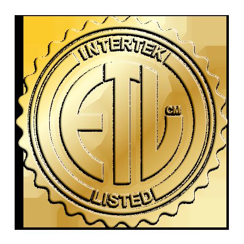 ADA Compliant and <br>ETL Certified